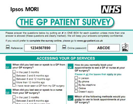 Click here for latest results of the GP-Patient survey